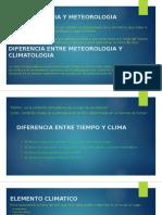 Climatologia y Meteorologia
