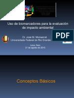Uso de Biomarcadores Para La Evaluación de Impacto Ambiental