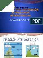 PRESIONES ATMOSFÉRICAS