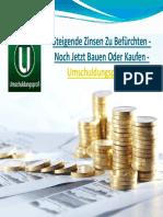 Steigende Zinsen Zu Befürchten - Noch Jetzt Bauen Oder Kaufen -Umschuldungsprofi UG