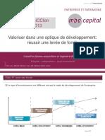 I.arnaud Despreaux Reussir Levee de Fonds