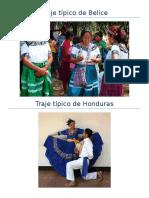 Trajes Tipicos de Centro America