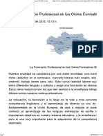 FP in Andalucia