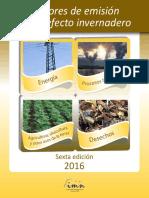 Factoresemision Gei 2016 1