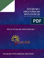 Socijalna i Emocionalna Inteligencija