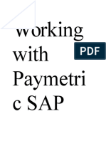 SAP Credit Card Functionality