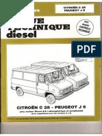 Revue Technique Peugeot J5 2.5 D TD