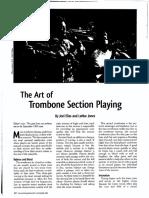 the art of trombone