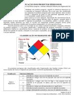 AP 03 - Classifica o Dos Produtos Perigosos