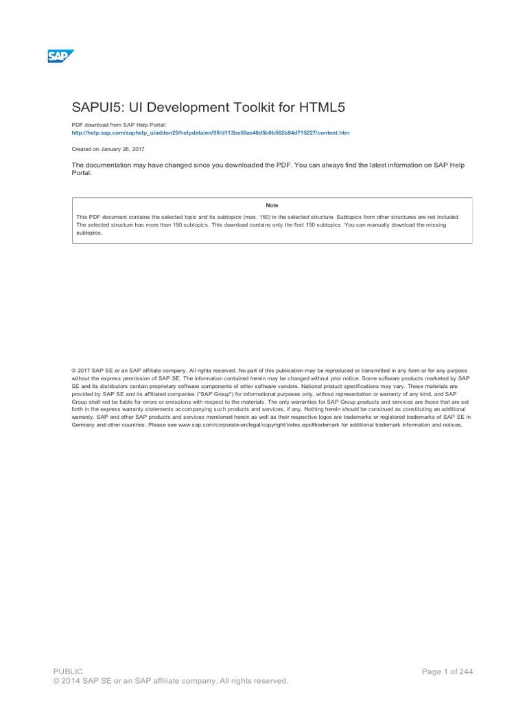 Saphelp Ui | Button (Computing) | Eclipse (Software)