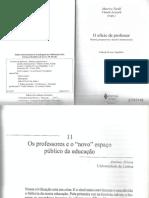 NÓVOA, Antonio - Os Professores e o Novo Espaço Público Da Educação