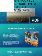 Contaminación Atmosférica y Sus Repercusiones en La Salud