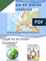 Europe Nutshell Presentation Es