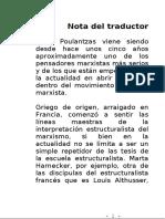 Poulantzas Nicos. Clases Sociales Y Alianzas Por El Poder