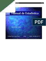 Ruíz Muñoz, David - Manual de estadística