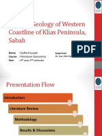 general geology of western coastline of klias peninsula viva