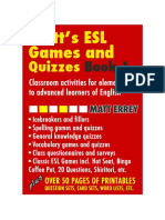 Games for English Classes