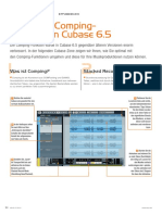 Cubase Zone Comping