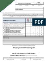 FR - GADM - 009. Satisfaccion Del Cliente