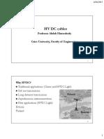 HVDC Cables