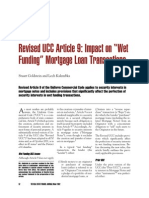 Revised UCC Article 9 Impact on Wet Funding Mortgage Loan Transactions