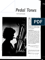 tuba pedal tones
