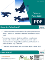 Pesquisa Ipsos Pulso Brasil Abril 2017