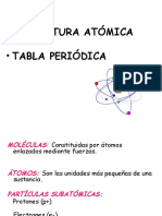 Estruct. Atómica- Tabla Periódica