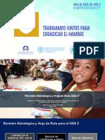 Revisión Estratégica y Hoja de Ruta ODS 2