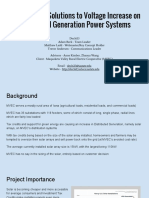 investigatingsolutionstovoltageincreaseondistributedgenerationpowersystems-finalpresentation