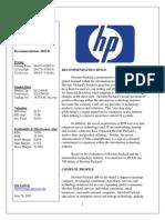 HP Report