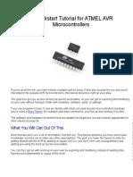 Quickstart Tutorial ATMEL AVR Microcontrollers