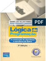 Livro - Lógica de Programação - André Luiz Villar Forbellone e Henri Frederico Eberspächer.pdf