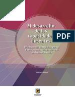 El Desarrollo de Las Capacidades Docentes IDEP 2014