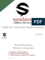 Réussir son projet d'album - Guide de l'auteur de bande dessinée Sandawe (2)