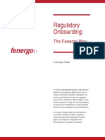 Regulatory Onboarding the Fenergo Way US