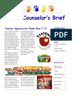 echs counselor newsletter 52017