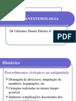 Nocoes de Anestesio
