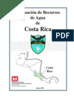 USACE - Evaluación de Recursos de Agua de Costa Rica