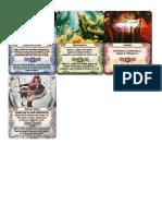 Mage Knight-Cartas Expansion