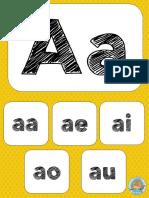 Sílabas Carteles Para Trabajar y Decorar PDF