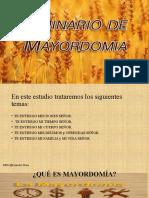 Seminario de Mayordomía IASD Cristo Vive Santo Domingo- Ecuador