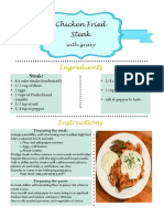 Adobe InDesign Recipe