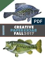 Creative Paperbacks Fall 2017 Catalog