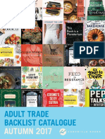 Chronicle Books UK Adult Trade Autumn 2017 Backlist Catalogue