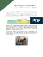 Control de Parásitos Internos y Externos (Bovinos)