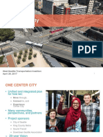 West Seattle 'One Center City' presentation
