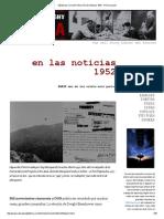 Sábado Por La Noche Uforia_ en Las Noticias 1952 - Primera Parte