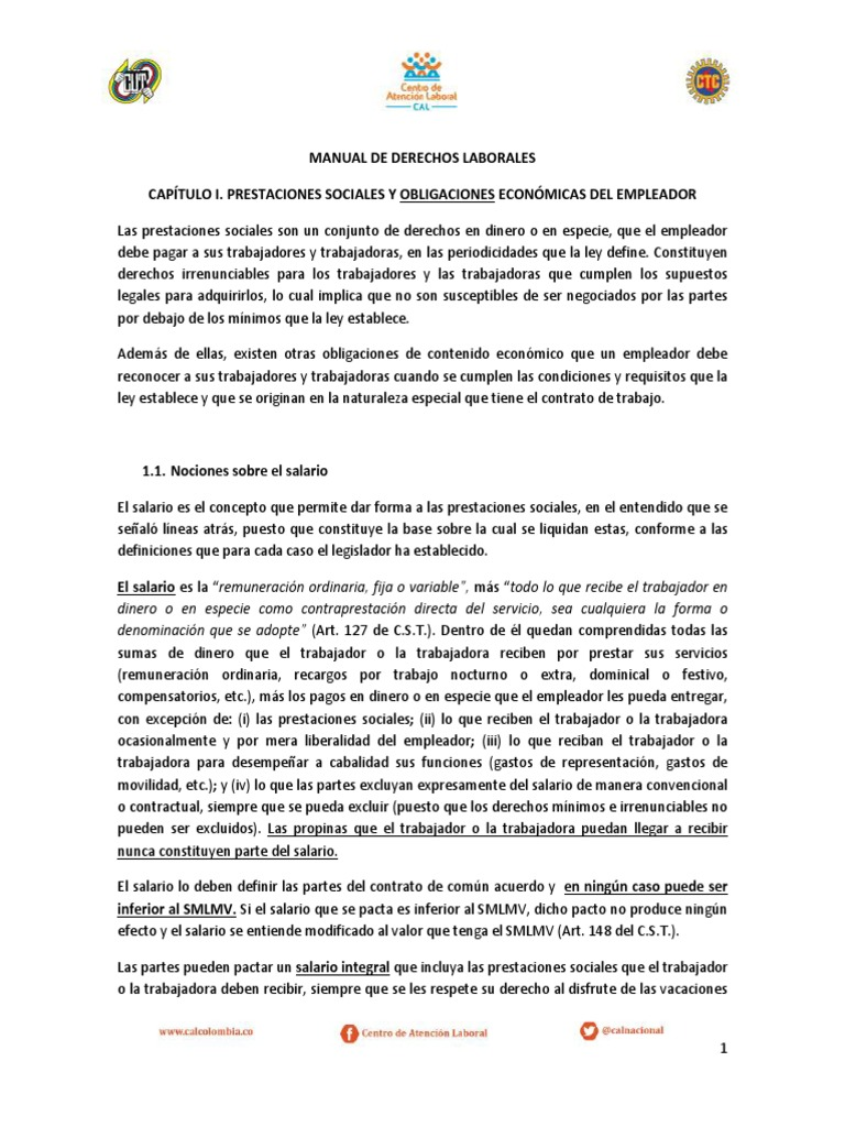 Manual de Derechos Laborales Final