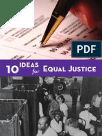 Equal Justice 2010